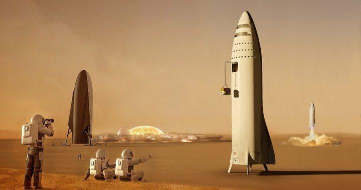 Space X enviará humanos a Marte en 2024