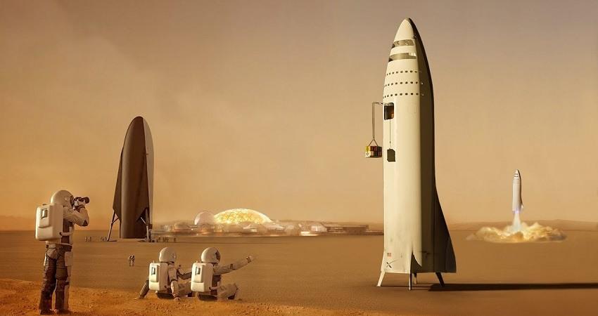 El plan de Elon Musk para crear ciudades en Marte