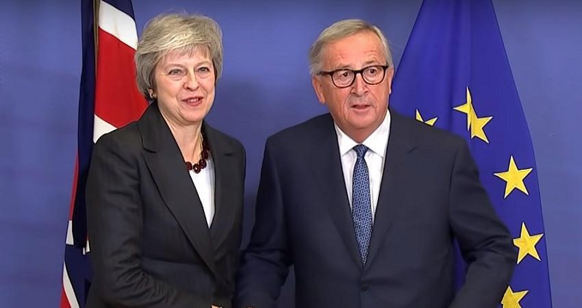 Juncker advierte a May: 'No hay espacio' para renegociar el acuerdo del Brexit