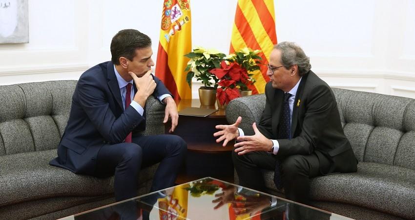 Reunion Sanchez Torra en Barcelona