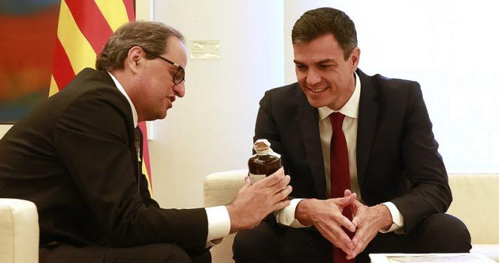 Calvo pide por carta al Govern un encuentro entre Sánchez y Torra el 21-D
