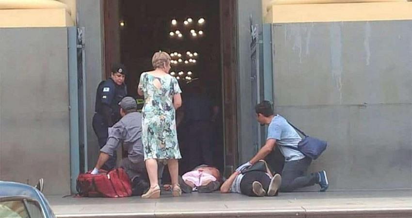 Tiroteo en una catedral de Brasil deja al menos cuatro personas muertas y varios heridos