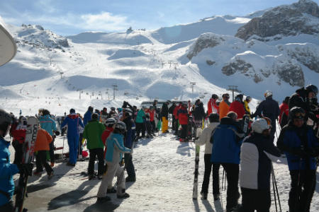 estacion de esqui austria