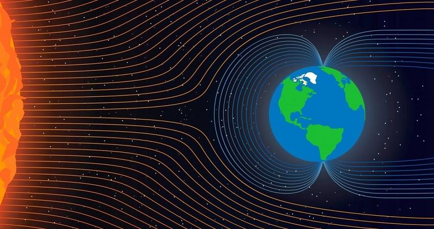 Campo magnetico de la Tierra se esta moviendo
