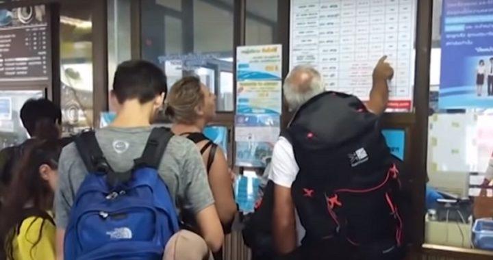 Cientos de turistas varados en islas del golfo de Tailandia debido a la tormenta tropical Pabuk