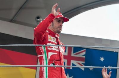 El adios de Fernando Alonso