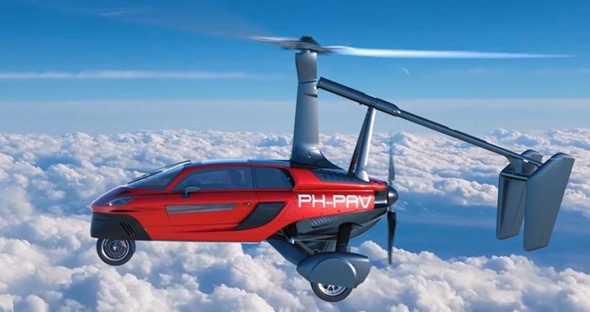 El primer coche volador ya se puede comprar en Espana