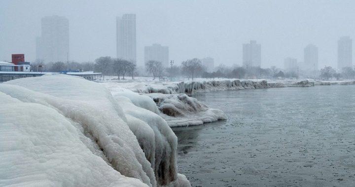 Una ola de frío polar golpea el norte de los Estados Unidos