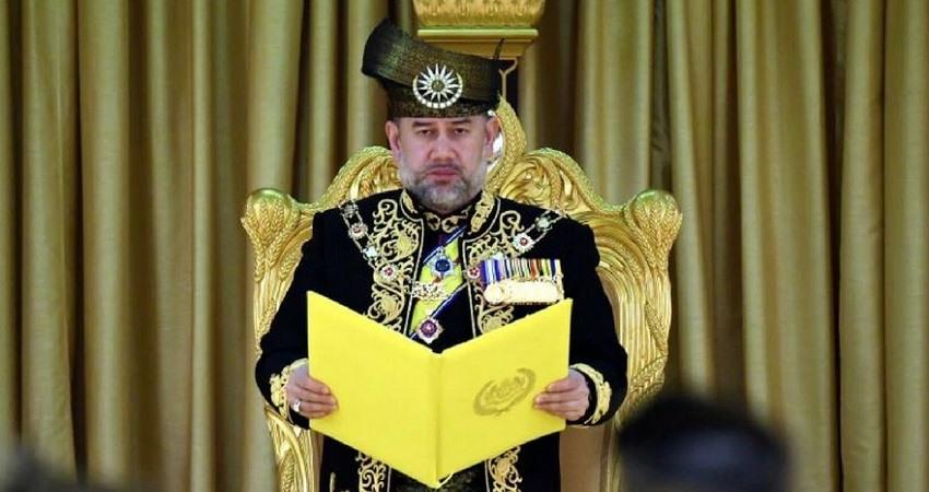 Rey de Malasia abdica repentinamente sin ningun tipo de explicacion