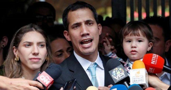 Juan Guaidó denuncia que fuerzas especiales de Maduro amenazaron a su familia