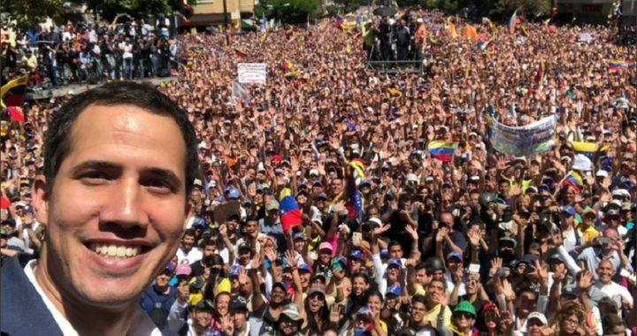 Guaidó garantiza que la ayuda humanitaria entrará en Venezuela la próxima semana
