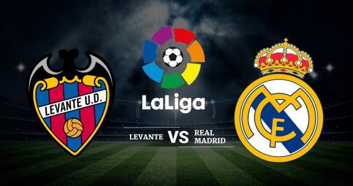A qué hora juega el Madrid: Levante – Real Madrid de La Liga Santander