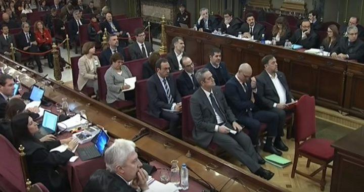 Continua el histórico juicio a los líderes independentistas catalanes