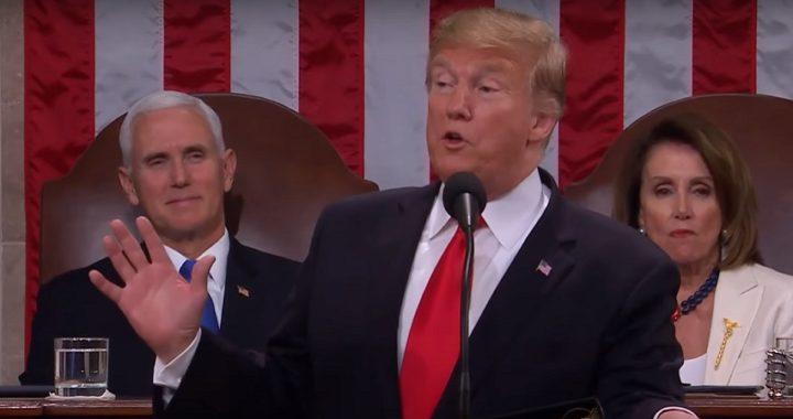 Trump dio un discurso de unidad pero insiste en construir su muro