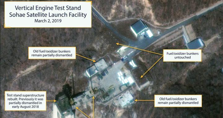 Corea del Norte está reconstruyendo unas instalaciones para el lanzamiento de cohetes