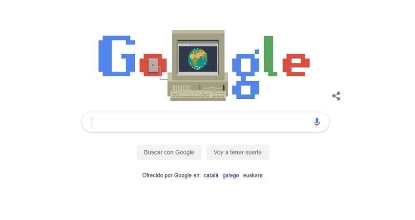 Google Doodle celebra el 30 cumpleanos de la World Wide Web
