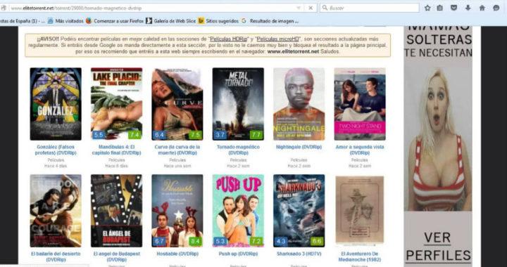 Las mejores alternativas a EliteTorrent ¿Qué otras páginas de este tipo todavía existen?