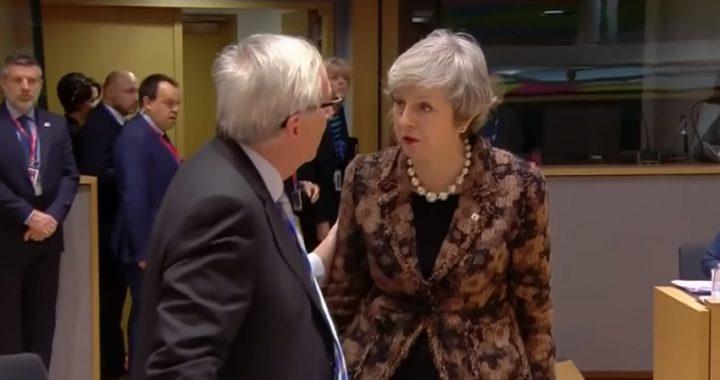 """Brexit: May y Juncker sellan un pacto de última hora con """"cambios jurídicamente vinculantes"""""""