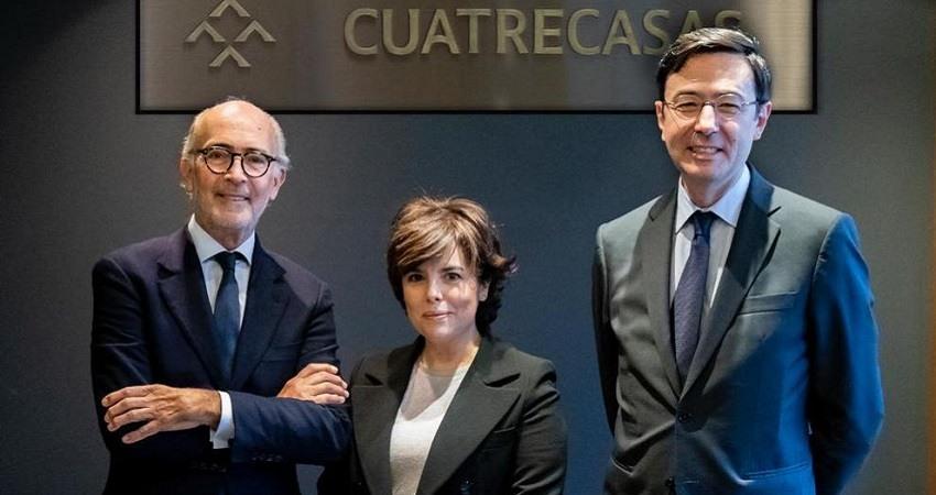 Saenz de Santamaria ficha por el bufete de abogados Cuatrecasas