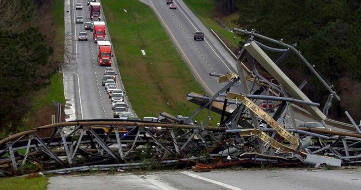 Al menos 23 personas muertas por tornados en Alabama (EEUU)