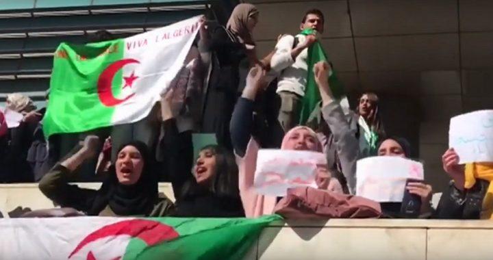 Una ola de protestas en Argelia contra la candidatura de Buteflika para un quinto mandato