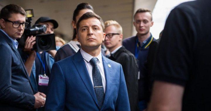 El cómico Zelensky toma la iniciativa en las elecciones Ucranianas