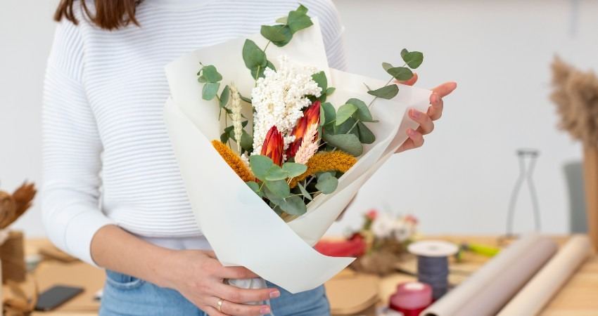 ventajas enviar flores a domicilio online