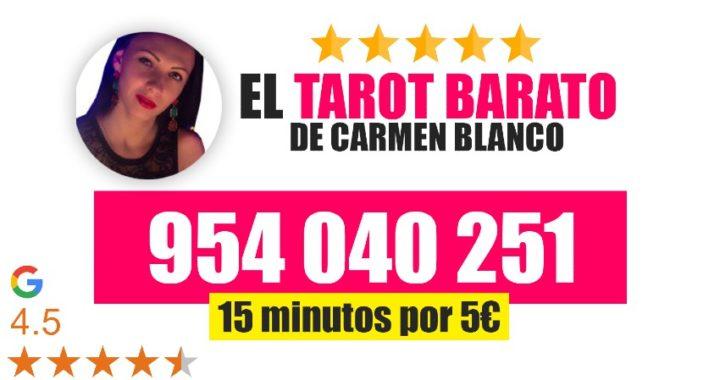 Tarot 806: La línea de tarot barato de la vidente Carmen Blanco